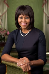First Lady Michelle Obama is celebrating her 50th birthday. (White House official portrait)