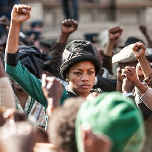 Naomie Harris as Winnie Mandela. (Long Walk to Freedom Ltd.)