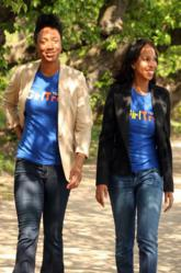 """GirlTrek co-founders Tanya Morgan Dixon, left, and Vanessa Garrison are trying to put the """"move"""" back in movement one step at a time. (GirlTrek)"""