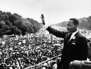 celebrate one of the greatest dreamers of our time — the Rev. Dr. Martin Luther King Jr.  (Public Domain)
