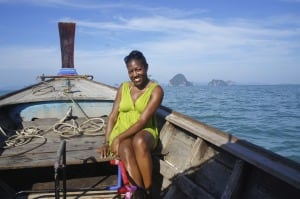 Robin Bennefield explored the Hong Islands on a long tail boat.