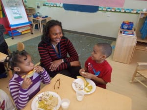 """Learn to celebrate children's ideas, their creativity,"" says Dawn Smith, a preschool master teacher at Educare of Washington, D.C."