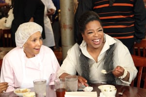 Oprah visits sweetie pies in ST. Louis, MO