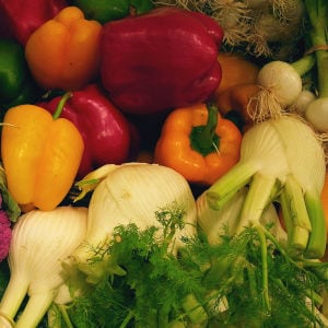 Fill up on five or more ½ cup servings of vegetables a day, Fierce fitness advisor Anowa Adjah recommends. (Creative Commons)