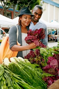 Get outdoors and enjoy shopping your local farmer's market this weekend. (Peathegee Inc.)