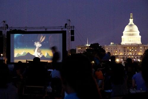 Fierce Fridays: Free Films Under the Stars