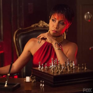"Jada Pinkett Smith calls her turn as Fish Mooney the ""role of a lifetime."" (Fox photo from ""Gotham"")"