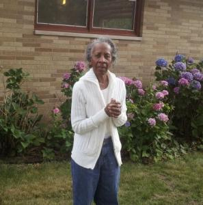 Alice Shurn outside her home in Benton Harbor, Mich., in May 2013. (Photo courtesy of Todd Shurn)