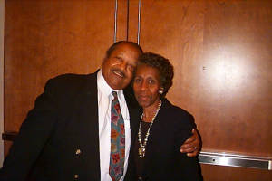 Alice and Joseph Shurn, shown at 69 and 70, respectively in 1999, were both educators in Benton Harbor, Mich., and active in the community.