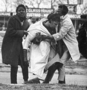 "Amelia Boynton was tear-gassed and nearly beaten to death on ""Bloody Sunday"" in Selma, Ala. (Photo: Public Domain)"