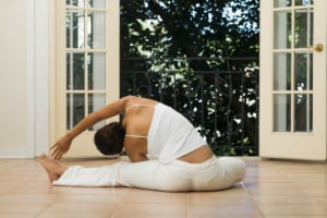 Being able to achieve yoga moves is bound to make you feel sexy! (Photo: YinYang/Getty Images)