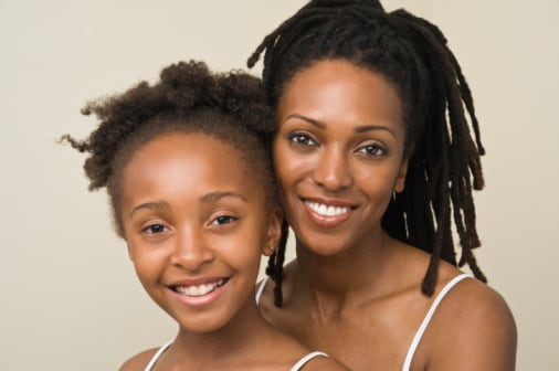 Black Moms Key to Daughter's Positive Body Image