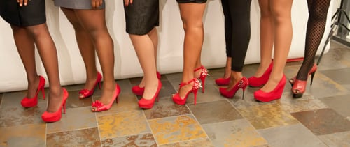 Rock the Red Pump About Safe Sex