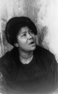 The late Mahalia Jackson was the go-to singer when the Rev. Dr. Martin Luther King Jr. needed inspiration through music. (Public Domain Photo: Carl Van Vechten/Library of Congress)