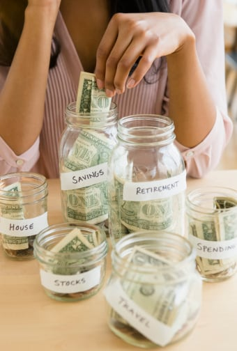 Saving money is important no matter how much money you have.