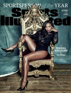 Serena Williams SI cover