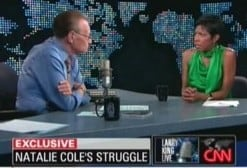 CNN screen shot of Natalie Cole
