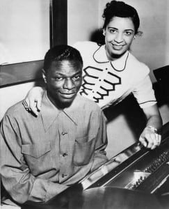 "A 1951 photo of Nat ""King"" Cole and Maria Cole. Photo: Public Domain"