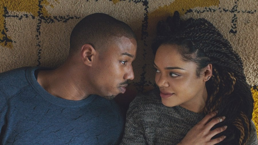 "Tessa Thompson and Michael B. Jordan in ""Creed."" (Photo: Warner Bros. Entertainment Inc.)"