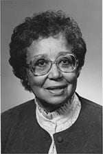 Laurie Martin Gunter, Meharry class of 1943, was a pioneer in nursing research