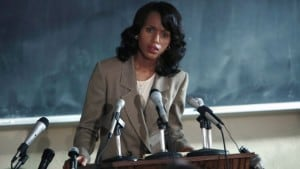 """It's about human beings trying to really struggle with issues of identity and morality and truth,"" Kerry Washington says. (Photo: HBO)"