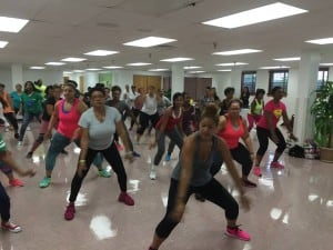 """Dance is about community. It's about finding your own rhythm of life and moving to the beat of your own drum,"" says dance instructor Lottie Joiner, who organizes ""Let's Move"" activities at Alfred Street Baptist Church in Alexandria, Va."