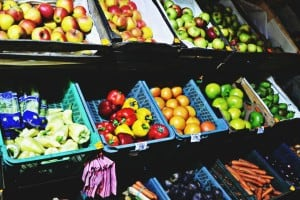 Leafy greens and fresh fruits can actually improve your mood.