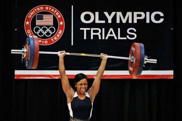 Jenny Arthur will be competing in the 75 kg. weight class at the Olympics.