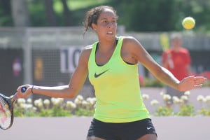 """I love representing the USA,"" Madison Keys, the youngest member of the Olympic tennis team, said in a QC Online interview. ""I want to make the country proud."" (Photo: Tabercil/Creative Commons)"