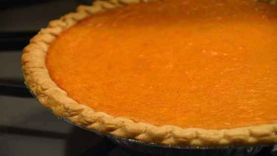Dishing Up Sweet Potato Pie