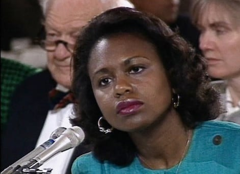 """I am really proud to be a part in whatever way of women becoming active in the political scene,"" Anita Hill said. (Photo: American Film Foundation)"