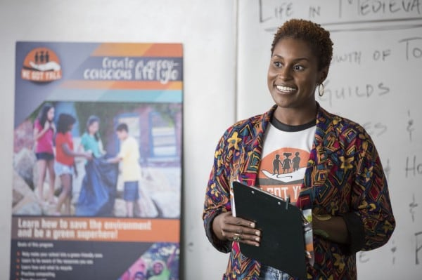 "Issa Rae has received Golden Globe and NAACP Image Award nominations for her new comedy series ""Insecure."" (Photo: John P. Fleenor/HBO)"