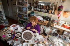 MacArthur Fellow Joyce J. Scott uses beadwork and sculpture to explore racism, sexism and violence. (Photo: MacArthur Foundation/Creative Commons)