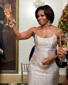 The very presence of Michelle Obama as First Lady and first in so many ways spoke volumes.