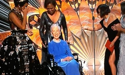 Katherine Johnson Joins 'Hidden Figures' Cast for Oscar Surprise
