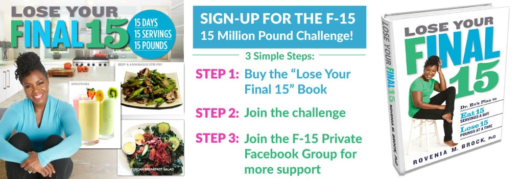 Meet Dr. Ro for Personal Tips on Losing Your Final 15; Join the Challenge!