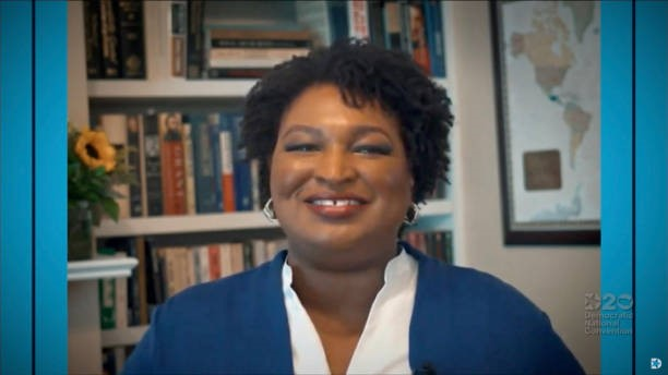 Stacey Abrams and Spencer Overton Talk Voter Suppression, Safeguarding the Black Vote
